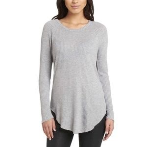 Chaser Waffle Knit Thermal Gray M